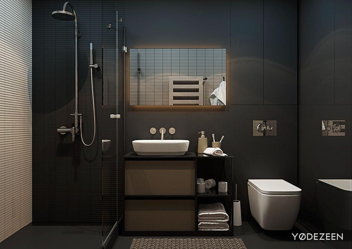 matte-black-bathroom-interior-design – BusheyFestival